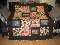 Cowgirl pin up quilt