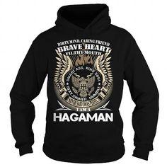 Awesome Tee HAGAMAN Last Name, Surname TShirt v1 T-Shirts