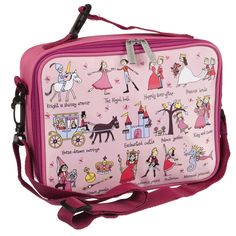 4 year old girls love being a princess for the day so this Tyrrell Katz Princess Lunch Bag makes the perfect gift.
