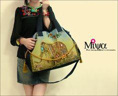 Miya Handmade Elephant Embroidery Messenger Bag Hippy Chic 16f8eac0480c2