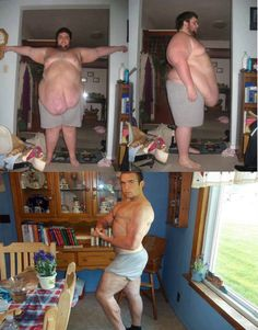 3 year transformation! Incredible! And you thought you'd have a hard time getting in shape~
