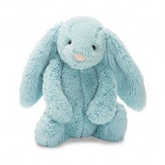 Jellycat Bashful Aqua Bunny- Medium