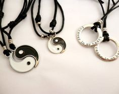 Yin Yang Friendship NECKLACE_ YYMA04145950235_friendship GIFT