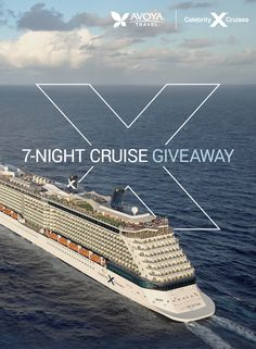 Cruise Giveaway! Play for a chance to Win a 7-Night Celebrity Cruises® Balcony Sailing to the Caribbean. Plus, instant win prizes include cameras and over $1,000 in gift cards! Sweepstakes End Date: 5/15/2016