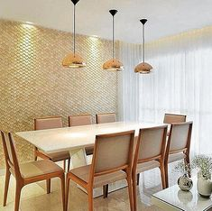 13 elegant dining ideas to make your meal the best time of the day! Kitchen Dinning, Dinning Table, Dining Area, Luxury Interior, Interior Design, Dinner Room, Elegant Dining, Dining Room Design, Decoration
