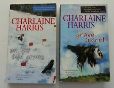 Lot of 2 Harper Connelly Paranormal Mystery Paperback Books by Charlaine Harris