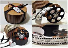 New Ideas Birthday Presents Box Fun Diy Birthday, Birthday Gifts, Birthday Outfits, Sister Birthday, Funny Birthday, Birthday Ideas, Happy Birthday, Deco Cinema, Movie Reels