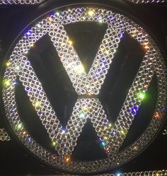 vw Crystal grill emblem @icycouture
