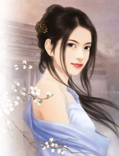 traditional Chinese painting of beautiful women | Beautiful Chinese Girls Paintings 26