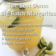 Best Damn Big-Batch Margaritas