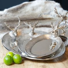Stag Serving Trays. Majestic homeware accessories inspired by the beauty of the Stag | Culinary Concepts