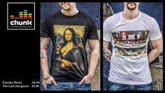 CHUNK 100% urban - 100% british... Iconic nostalgia made cool! Cheeky Mona & The Last Hangover