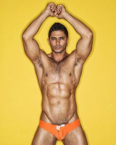 Dato in Marcuse Arrest Me Orange, back in stock now! www.marcuse.com/swimwear/arrest-me/  Thanks to photographer Serge Lee for the beautiful image, please visit www.facebook.com/sergeleephoto