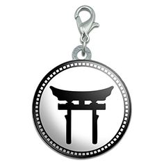Torii Symbol Stainless Steel Pet Dog ID Tag -- To view further for this item, visit the image link. (Note:Amazon affiliate link)