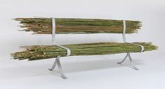 Bamboo is a plant that is quickly replenished, making it a sustainable choice for construction. It also has a high mechanical strength and durability to weather conditions. Choosing to use the material in its natural and raw form, israeli designer Gal Ben-Arav has developed the 'Bamboo bench'.