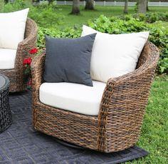 Augustine Swivel Deep Seating Set | AE Outdoor | Not Your Grandmau0027s Patio  Furniture | Sunbrella