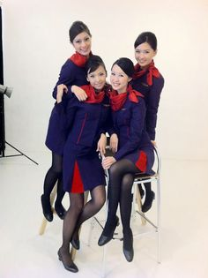 Hongkong Airlines stewardess