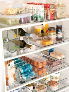 Organiser son frigo avec des boites transparentes
