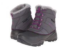 Columbia Kids Rope Tow III Waterproof Boot (Toddler/Little Kid/Big Kid) (Charcoal/Razzle) Girls Shoes