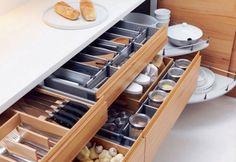 The new catalogue from IKEA is here « webstash Tidy Kitchen, Kitchen Drawers, Rustic Kitchen, Kitchen Decor, Kitchen Utensil Organization, Kitchen Storage, New Kitchen Designs, Design Kitchen, Minimalist Kitchen