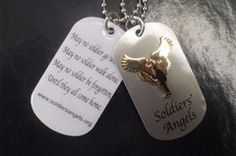 """May no soldier go unloved. May no soldier walk alone. May no soldier be forgotten, Until they all come home.""  Soldiers' Angels www.soldiersangels.org"