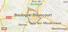 Boulogne-Billancourt: carte