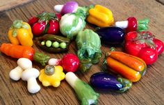 Custom made veggie beads You pick by TheGlassBunny on Etsy, $4.00