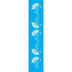 Stencil Litoarte 42,2x32 STW-038 Mandala - PalacioDaArte Nintendo Wii Controller, Decoupage, Templates, Cricut Ideas, Jewel, Wall, Instagram, Simple Paintings, Indian Embroidery