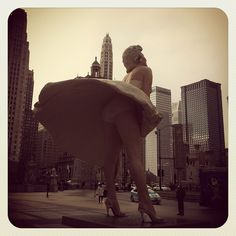 """Chicago! Wow, when this is the first """"large city"""" you've visited (as just a country girl) it's amazing how tall everything is! Still haven't been to New York City."""