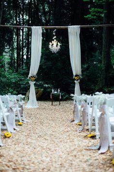 Rustic Garden Inspired Wedding by Rachel Hawthorne Photography - Melissa Hearts Weddings