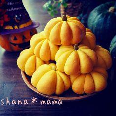 早くもハロウィン!?かぼちゃのちぎりパン♪
