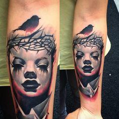 Done by Jefree Naderali, tattooist at Ink City Tattoo Studio (Istanbul), Turkey TattooStage.com - Rate & review your tattoo artist. #tattoo #tattoos #ink