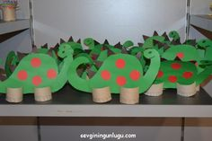 paper dinosaur, kids activity, Paper Dinosaur, Yoshi, Activities For Kids, Character, Kid Activities, Lettering, Kid Crafts