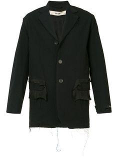 SILENT DAMIR DOMA frayed detailing jacket. #silentdamirdoma #cloth #jacket