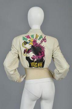 Jean Paul Gaultier 1995/96 Virus Man Leather Jacket