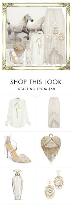 """""""Ponies And Lace"""" by farradaymg ❤ liked on Polyvore featuring Pottery Barn, Alexander McQueen, River Island, Bella Belle, Victoria's Secret and Kate Spade"""
