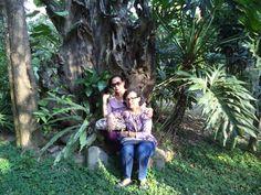 my mom n my aunty in action... ;p #traveling #kayuarum #resort #salatiga
