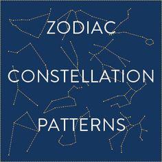 Patrones del zodiaco Constelación
