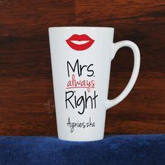 Mrs. Always Right - Personalizowany Kubek - MyGiftDna
