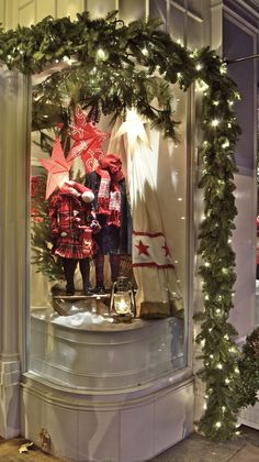 Ralph Lauren windows, London visual merchandising