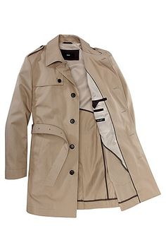 Trench coat 'The Flint' by BOSS