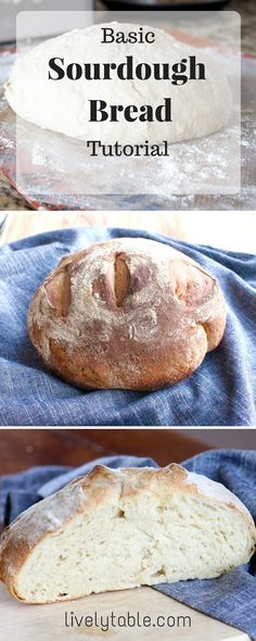 Easy Sourdough Bread Recipe on Pinterest | Sourdough Bread, Bread ...