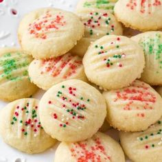 Whipped shortbread cookies are light as air with a delicious buttery flavor. Learn all the tips & tricks for perfect whipped shortbread recipe. Whipped Shortbread Cookies, Shortbread Recipes, Powdered Sugar Cookies, Easy Cookie Recipes, Baking Recipes, Dessert Recipes, Dessert Blog, Simple Recipes, Crack Crackers