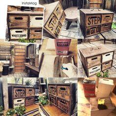 セリアの木箱で男前な小引き出し!|LIMIA (リミア)