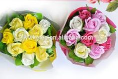 Image result for soap flowers
