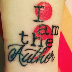 I am the Author- Semicolon Project. Neue Tattoos, Body Art Tattoos, Small Tattoos, Cool Tattoos, Tatoos, Wrist Tattoos, Tattoo Art, Tattoo Drawings, Tattoo Life
