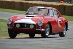 1959 Ferrari 250GT Comp Alloy Berlinetta to be auctioned off at the Quail Lodge Auction this summer. Get pre-approved with Premier Financial Services today. #Lease #QuailLodgeAuction #Ferrari