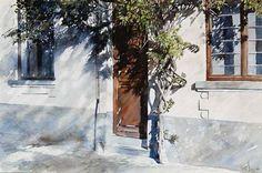 Акварельная живопись. Paul Dmoch.