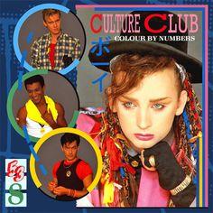 Culture Club Colour By Numbers - vinyl LP