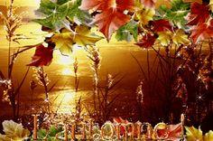 poeme automne et paysage anime